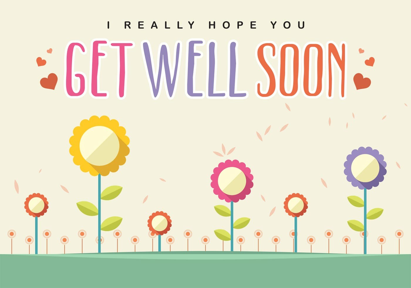 Free Printable Get Well Soon Cards 1 4 | Ncurjh - Free Printable Get Well Cards