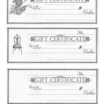 Free Printable   Gift Certificates | Craft Ideas | Pinterest | Free   Free Printable Gift Certificates