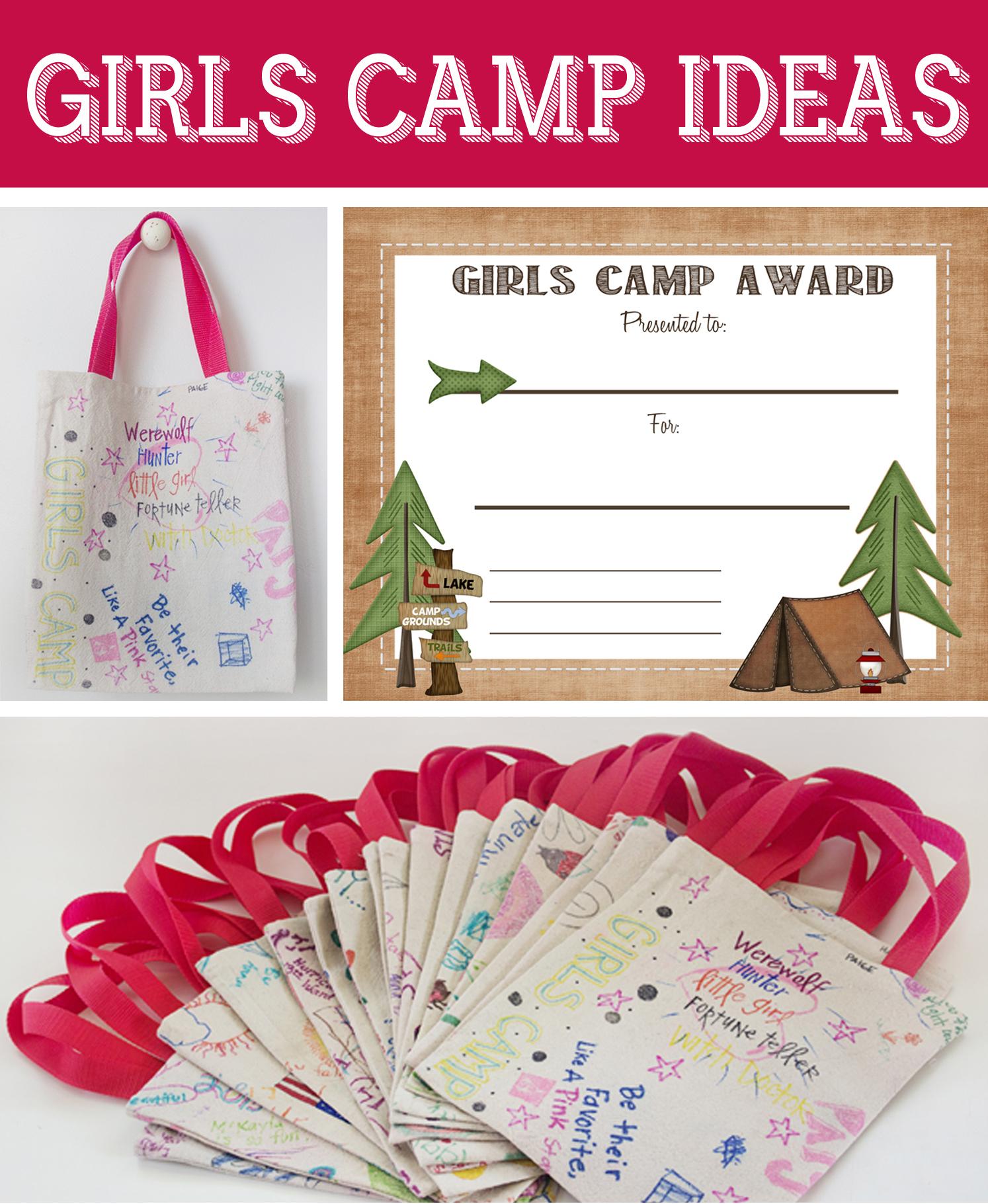 Free Printable Girls Camp Award Certificate - Free Printable Camp Certificates