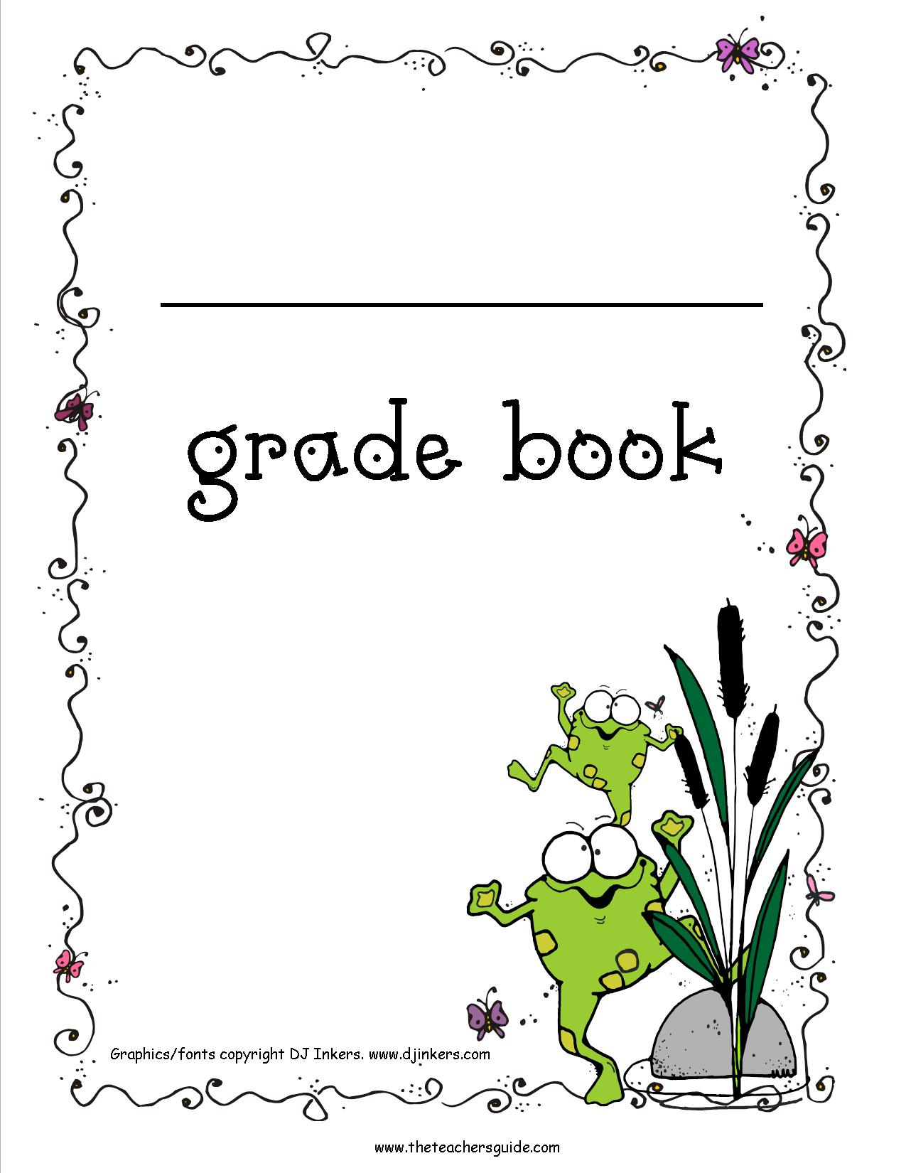 Free Printable Grade Books - Free Printable Grade Sheet