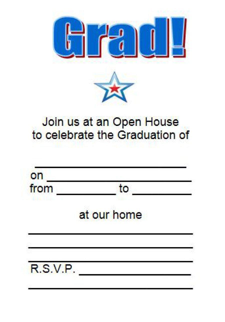 Free Printable Graduation Invitations New Free Graduation Invitation - Free Printable Graduation Invitations