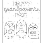 Free Printable Grandparents Day Coloring Pages From Carter's   Grandparents Certificate Free Printable