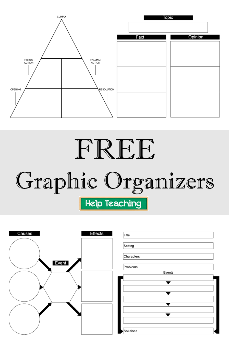 Free Printable Graphic Organizers - Check Out Our Collection Of Free - Free Printable Graphic Organizers