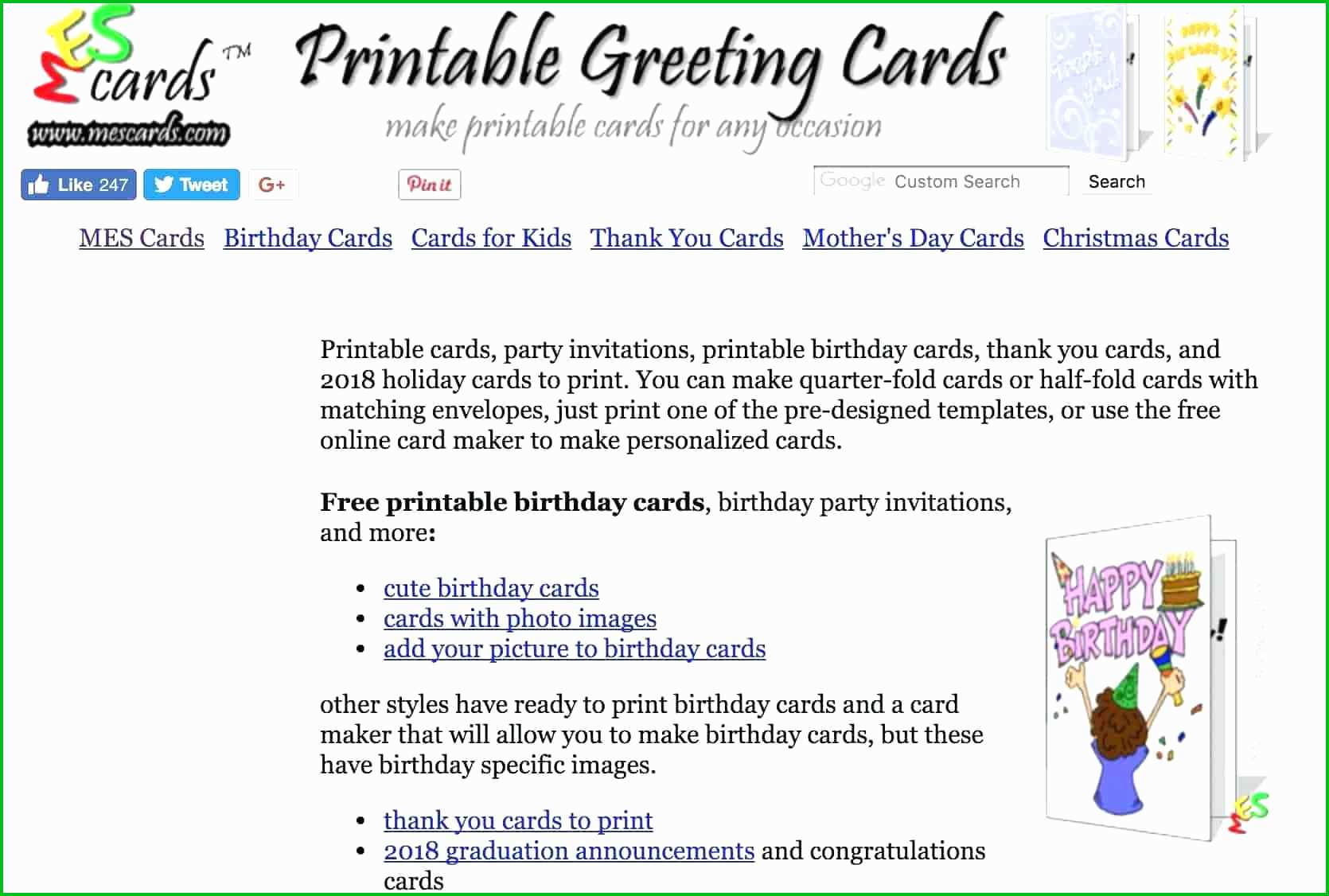 Free Printable Greeting Card Maker Print Your Christmas - Classy World - Free Printable Quarter Fold Christmas Cards