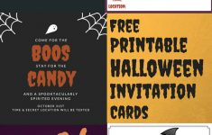 Free Printable Halloween Invitations