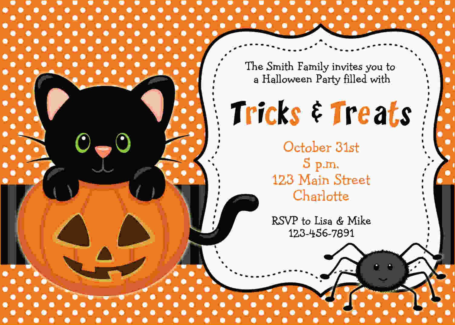 Free Printable Halloween Invitations | Free Printable Birthday - Free Halloween Birthday Invitation Templates Printable