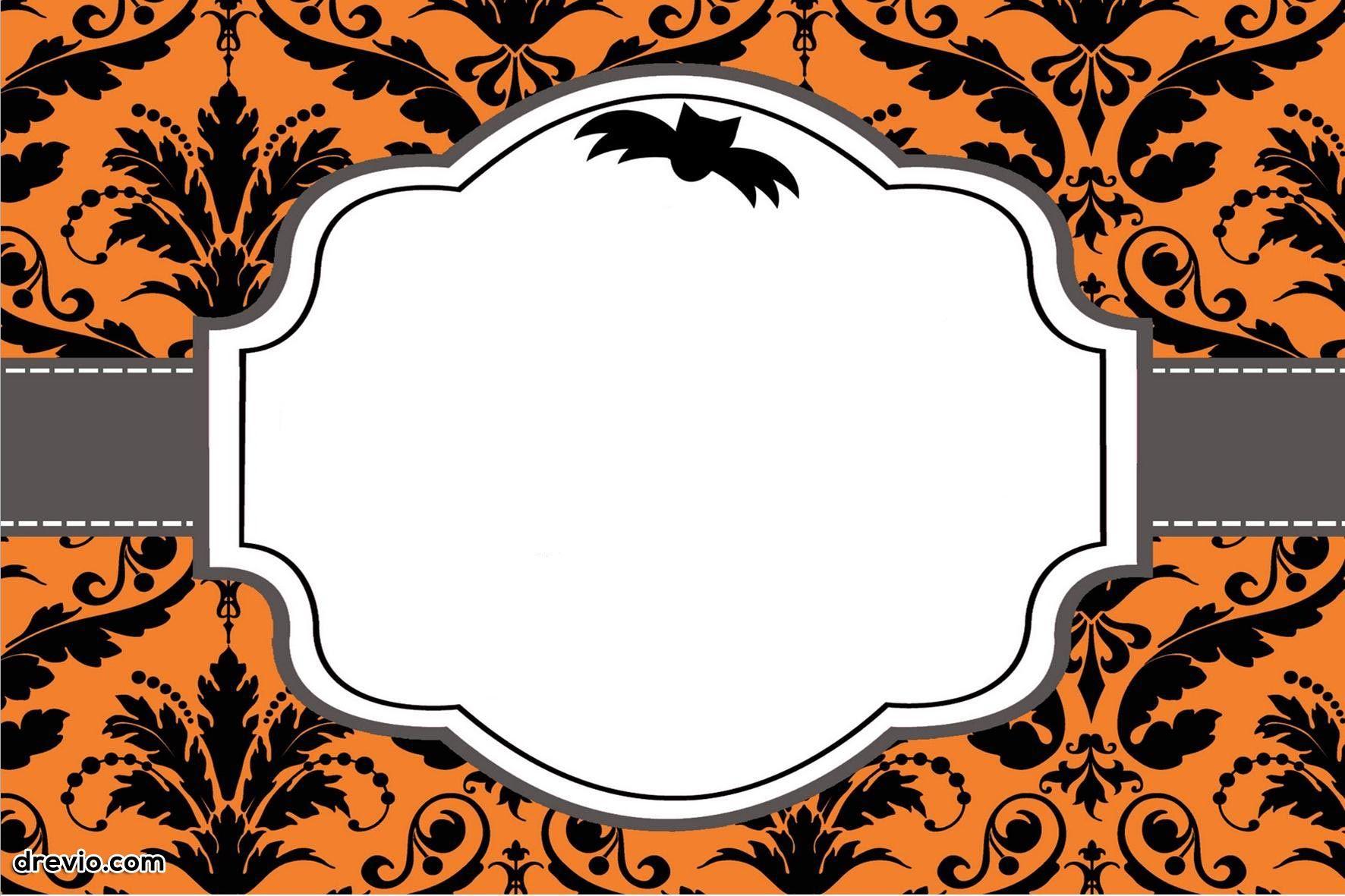 Free Printable Halloween Invitations | Free Printable Birthday - Halloween Party Invitation Templates Free Printable