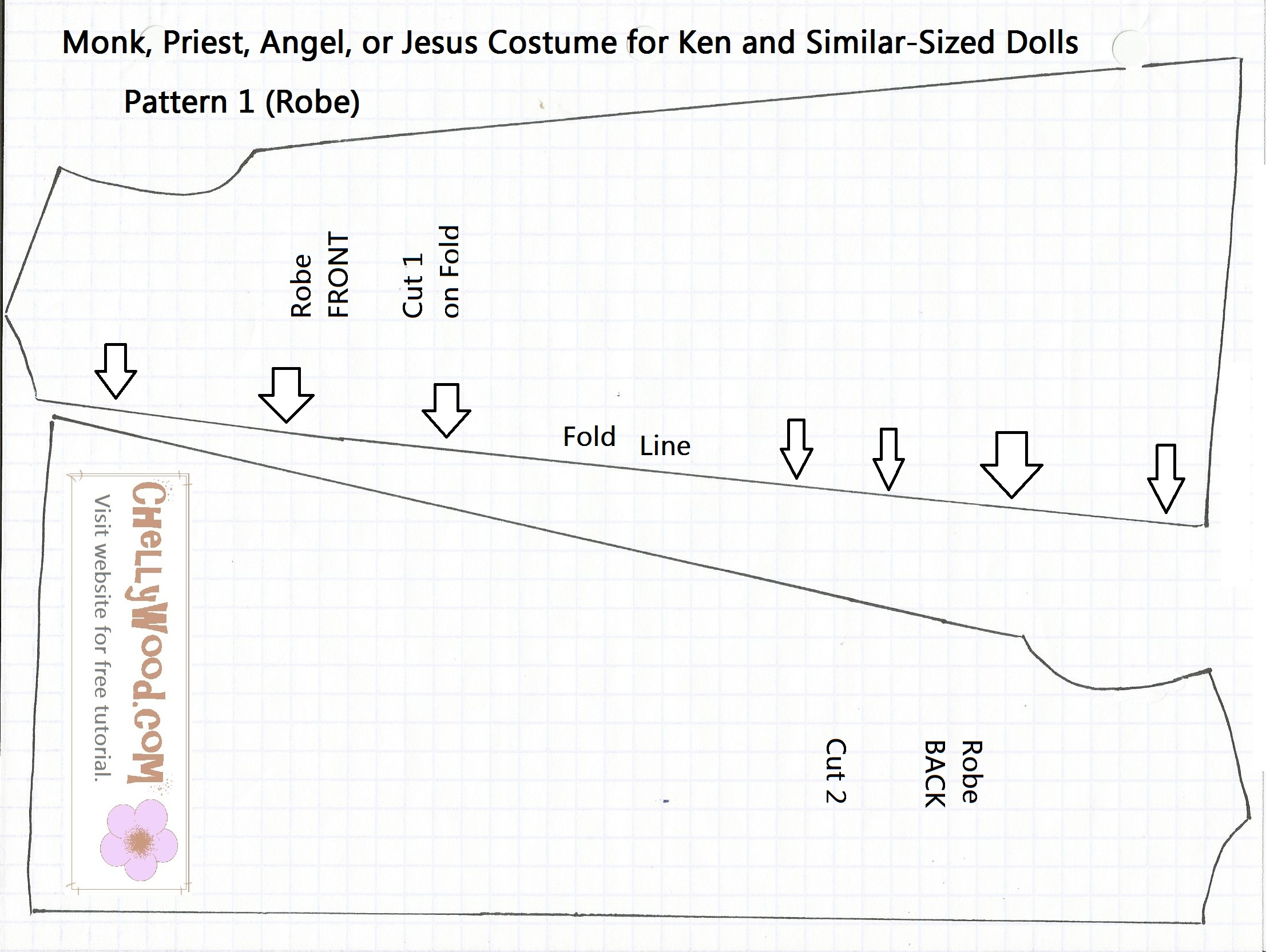 Free Printable Halloween Sewing Patterns | Halloween Arts - Free Printable Sewing Patterns