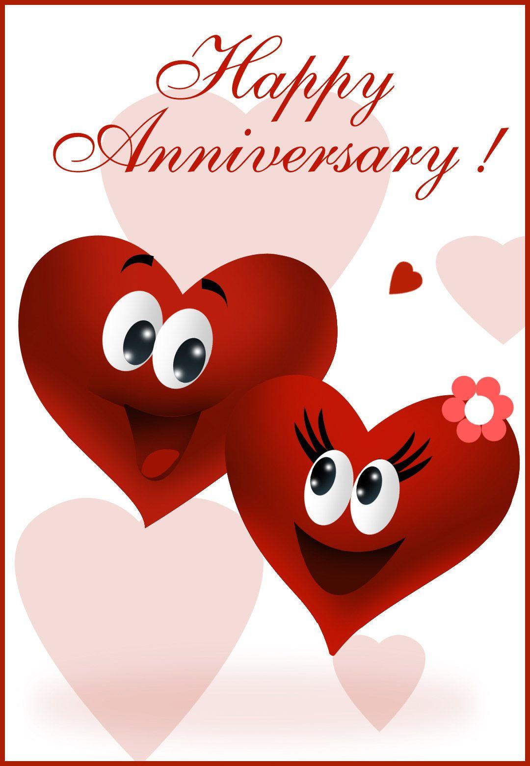 Free Printable Happy Anniversary Greeting Card | Anniversary - Free Printable Anniversary Cards