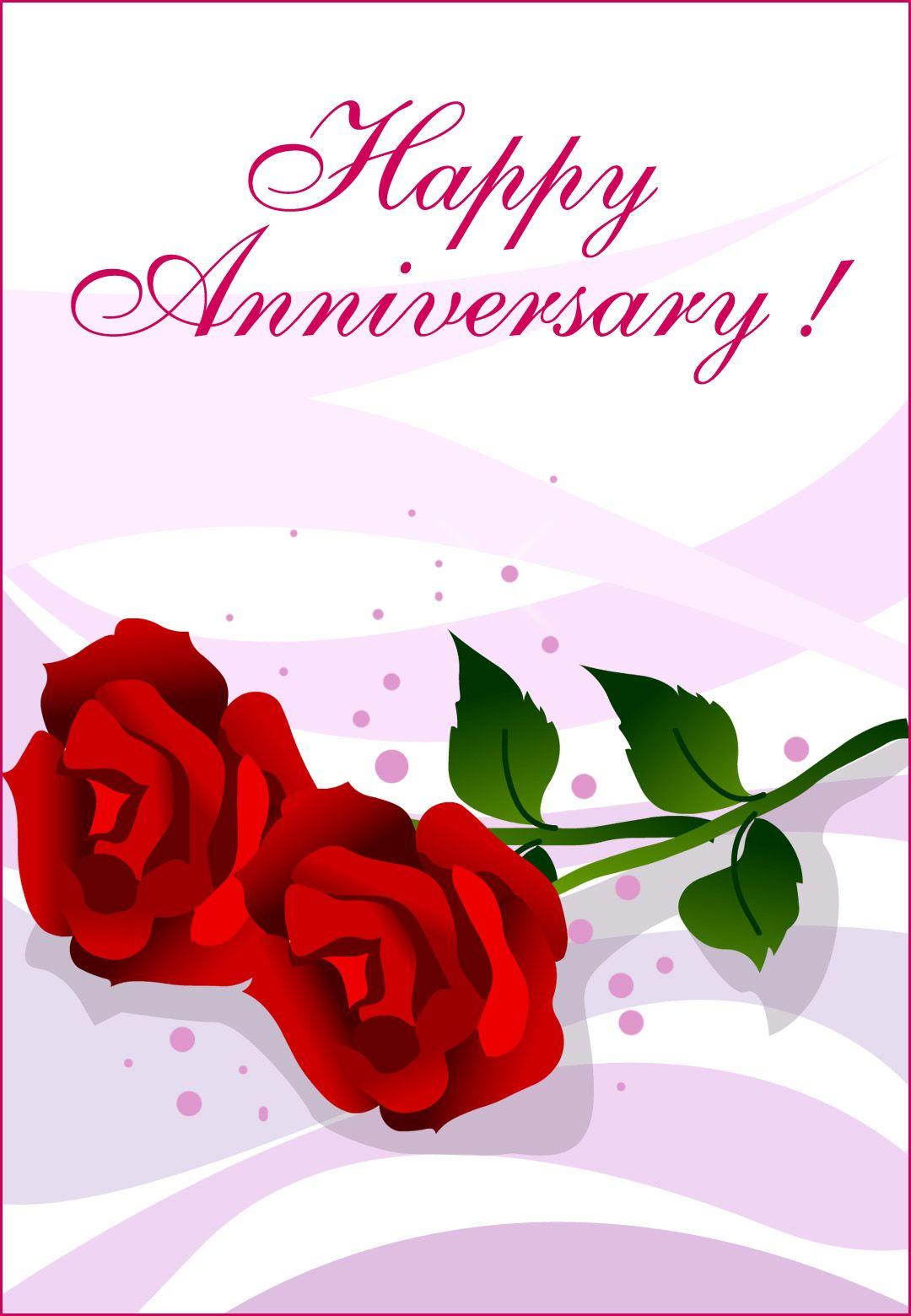 Free Printable Happy Anniversary Greeting Card | Name | Pinterest - Wedding Wish Cards Printable Free