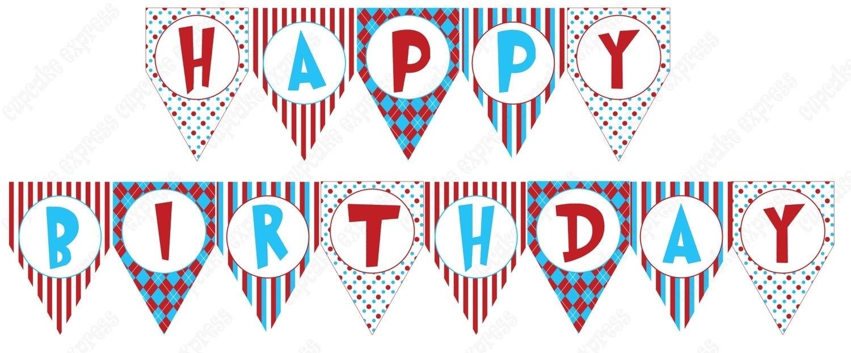Free Printable Happy Birthday Banner Templates | Reactorread - Birthday Banner Templates Free Printable