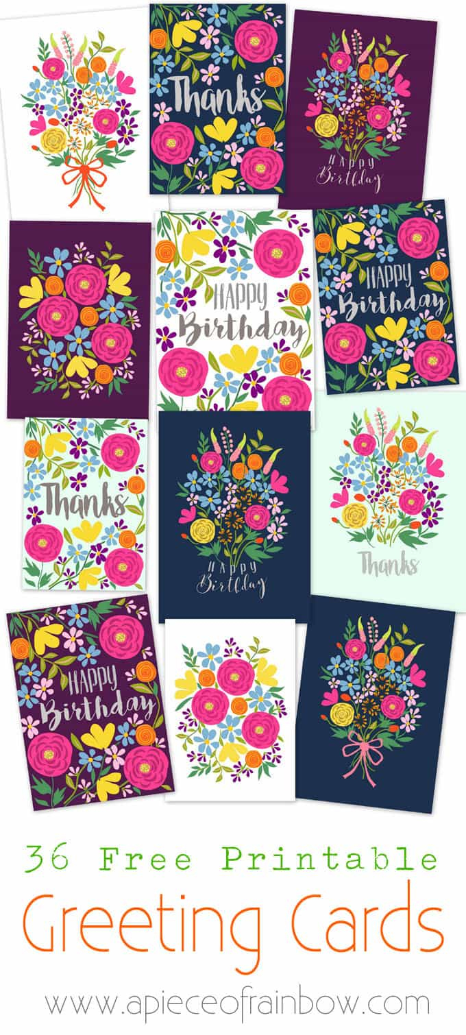 Free Printable Happy Birthday Cards