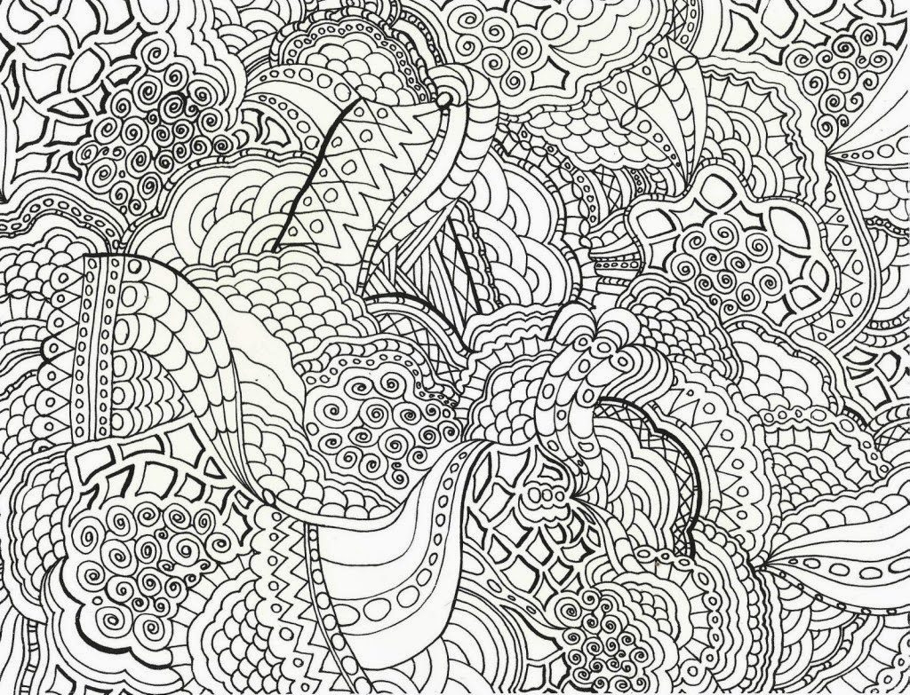 Free Printable Hard Coloring Pages 1 #7869 - Free Printable Hard Coloring Pages For Adults