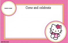 Hello Kitty Free Printable Invitations For Birthday