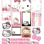 Free Printable Hello Kitty Planner Stickers From Victoria Thatcher   Hello Kitty Labels Printable Free