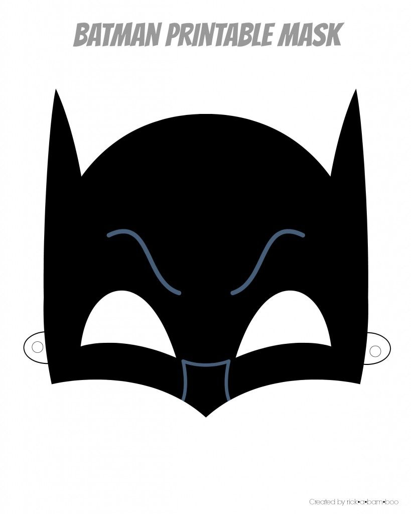 Free Printable Hero Masks   Ciné   Superhero Mask Template, Batman - Free Printable Batman Pictures