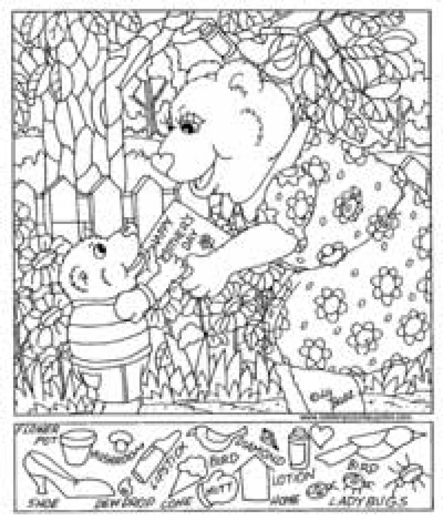 Free Printable Hidden Pictures For Kids | All Kids Network For Free - Free Printable Valentine Hidden Pictures