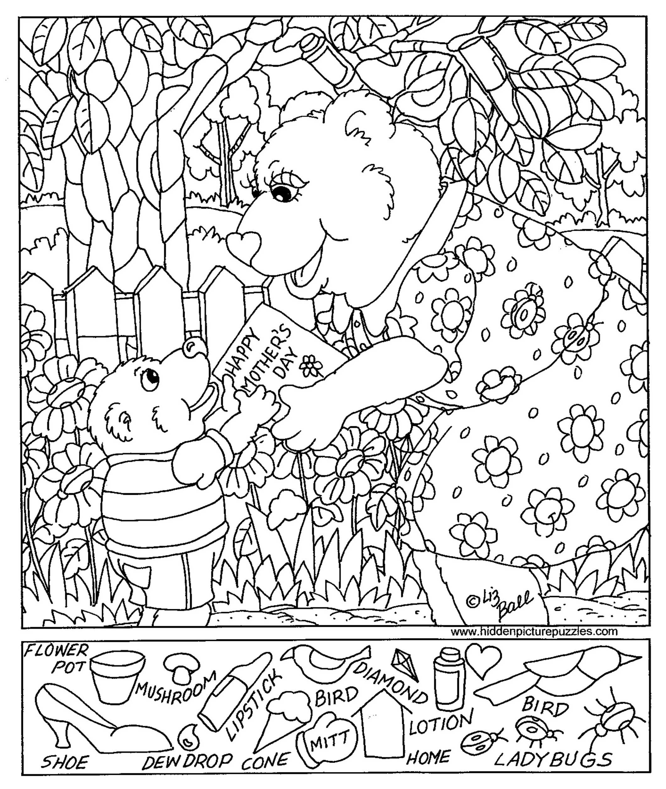 Free Printable Hidden Pictures For Kids At Allkidsnetwork - Free Printable Hidden Pictures
