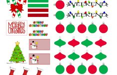 Free Printable Holiday Stickers