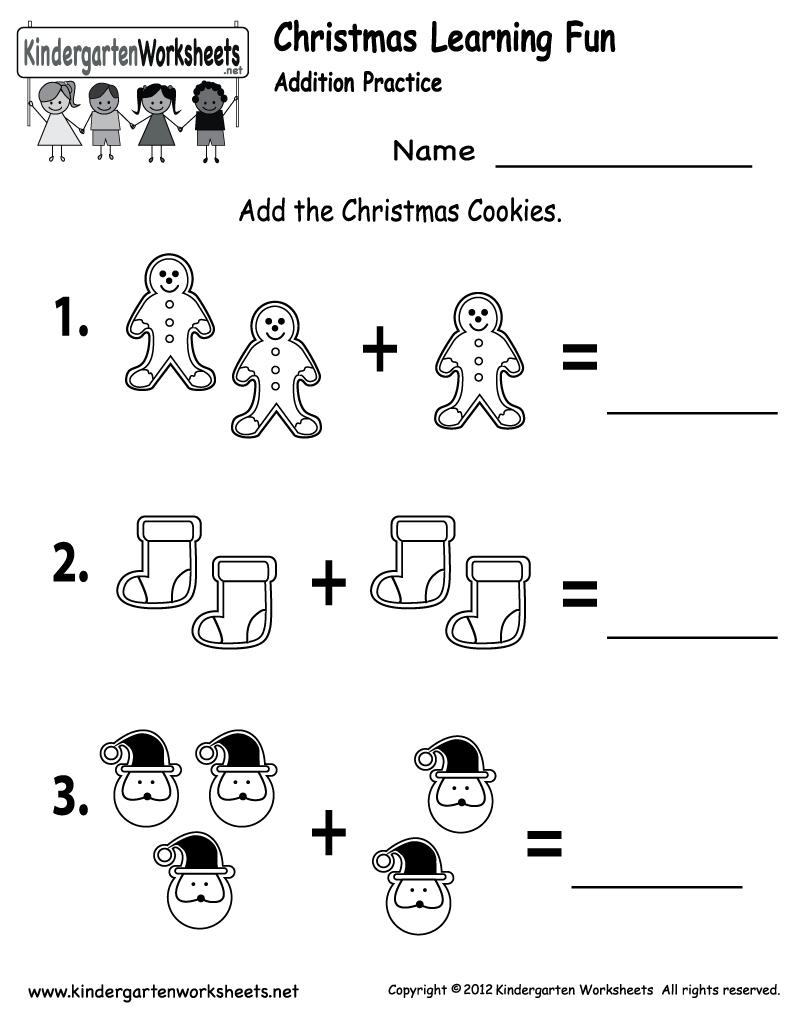 Free Printable Holiday Worksheets   Free Christmas Cookies Worksheet - Christmas Fun Worksheets Printable Free