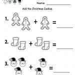Free Printable Holiday Worksheets | Free Christmas Cookies Worksheet   Free Printable Holiday Worksheets