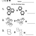 Free Printable Holiday Worksheets | Free Printable Kindergarten   Free Printable Holiday Worksheets
