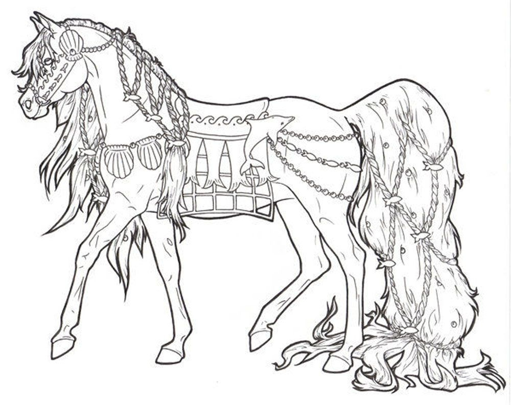 Free Printable Horse Coloring Pages For Adults | Coloring Pages - Free Printable Horse Coloring Pages