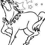 Free Printable Horse Coloring Pages For Kids | Little Ones | Horse   Free Printable Horse Coloring Pages