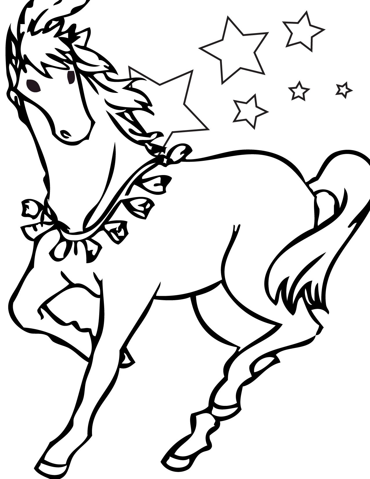 Free Printable Horse Coloring Pages For Kids | Little Ones | Horse - Free Printable Horse Coloring Pages