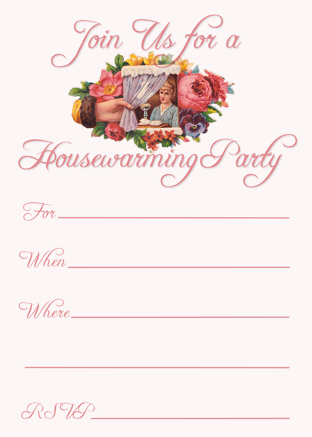 Free Printable Housewarming Party Invitations | Invitation Cards - Free Printable Housewarming Invitations Cards