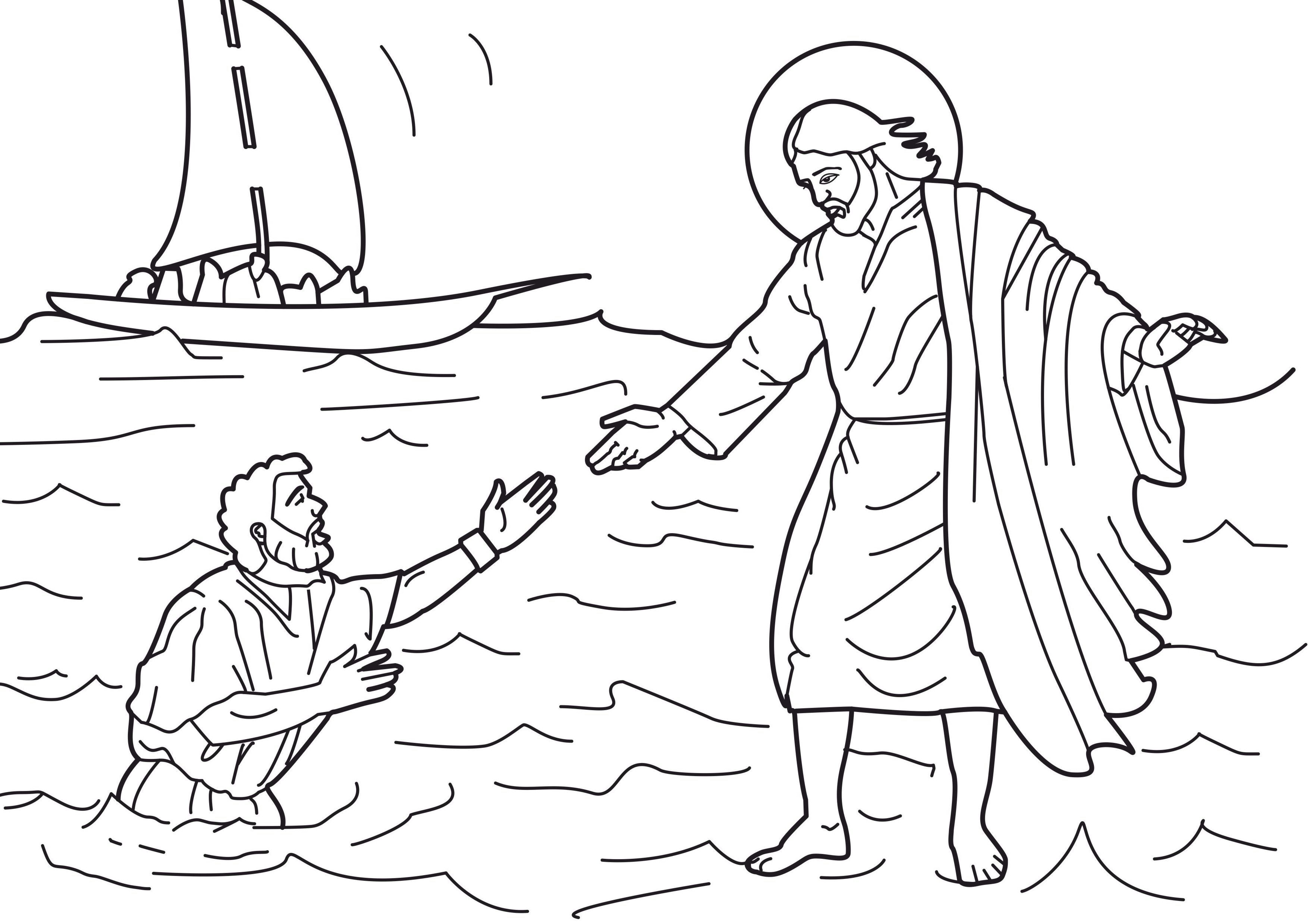 Free Printable Jesus Coloring Pages For Kids | Sunday School - Free Printable Jesus Coloring Pages