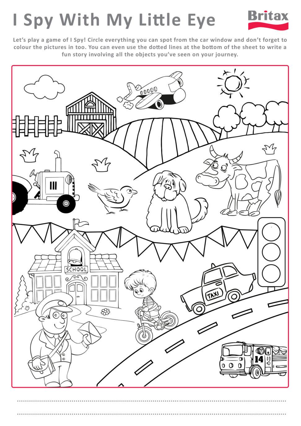 Free Printable Kids Activities #28655 - Free Printable Activities