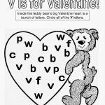 Free Printable Kindergarten Valentine Worksheets | Download Them And   Free Printable Preschool Valentine Worksheets