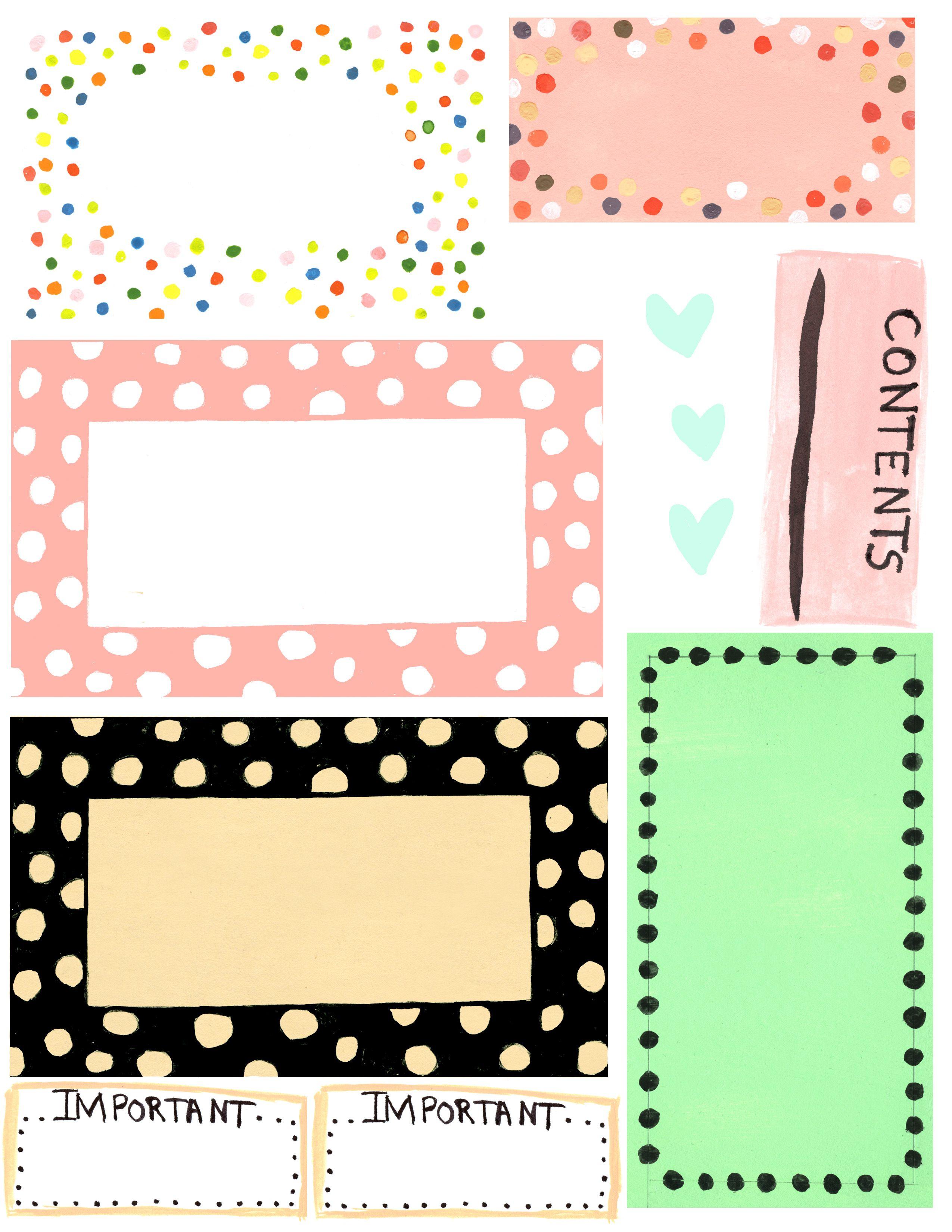Free Printable Label Design Template Cakepins   Free Printables - Free Editable Printable Labels