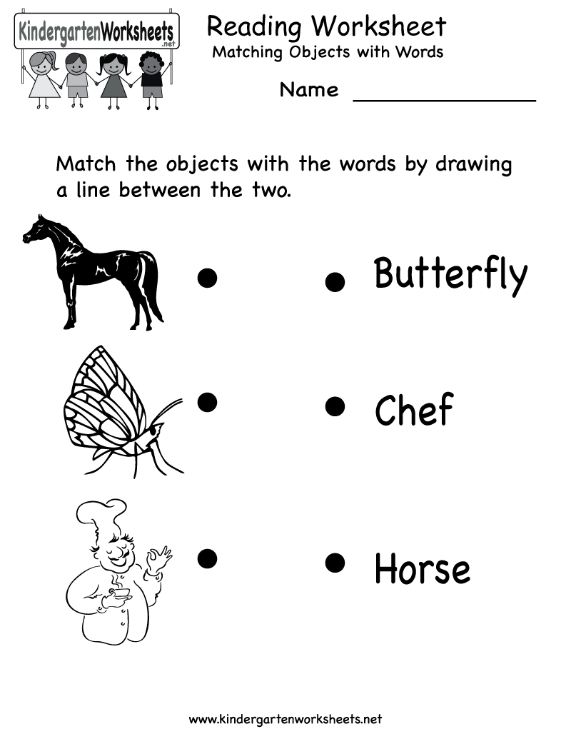 Free Printable Letter Worksheets Kindergarteners   Reading Worksheet - Free Printable Games For Toddlers