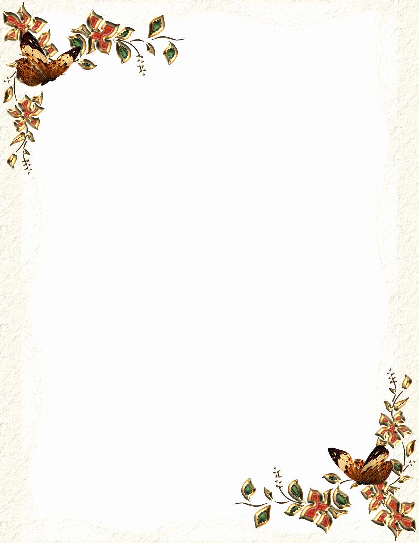 Free Printable Letterhead Borders 7 Best Images Of Free Fall - Free Printable Letterhead Borders