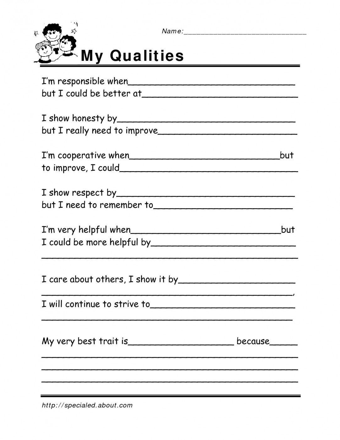 Free Printable Life Skills Worksheets | Lostranquillos - Free Printable Life Skills Worksheets