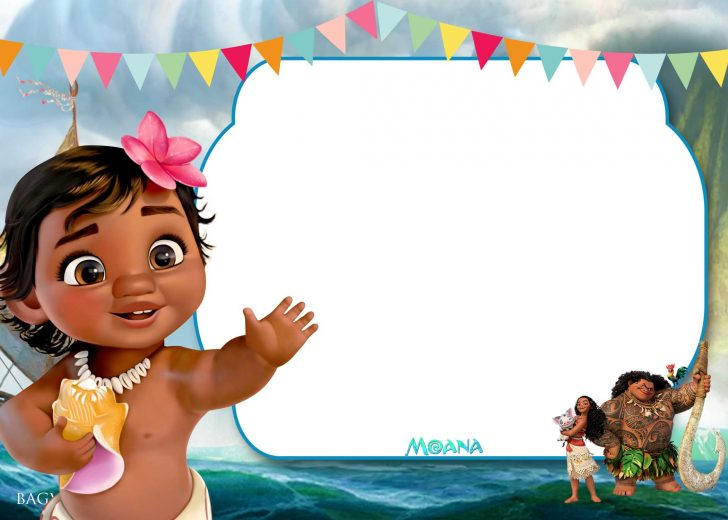 Free Printable Moana Birthday Invitations