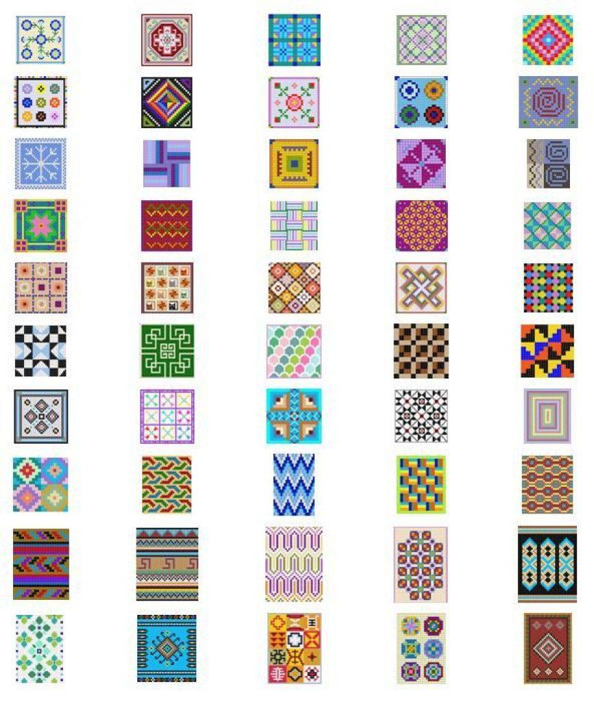 Free Printable Loom Bracelet Patterns | Free Printable - Free Printable Bead Loom Patterns