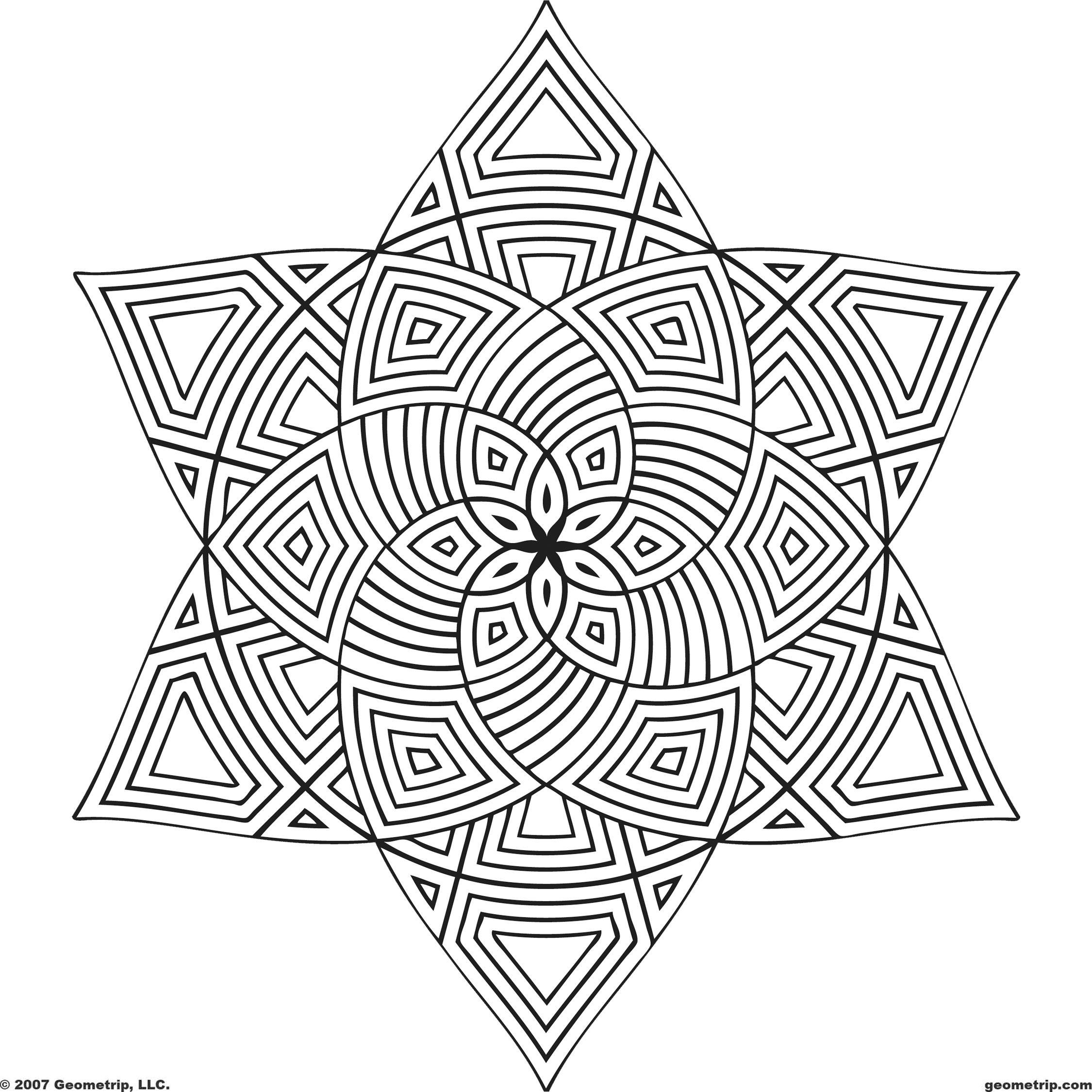 Free Printable Mandala Coloring Pages | Shapes: Page 1 Of 2 - Free Printable Mandala Coloring Pages