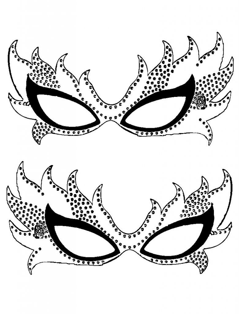 Free Printable Mardi Gras Coloring Pages For Kids   Behind The Mask - Free Printable Mardi Gras Masks