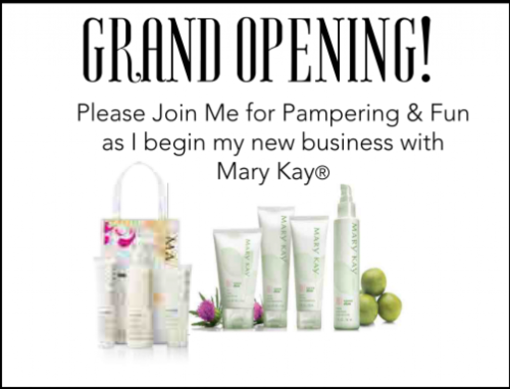 Free Printable Mary Kay® Business Debut Postcards - Qt Office® Blog - Mary Kay Invites Printable Free