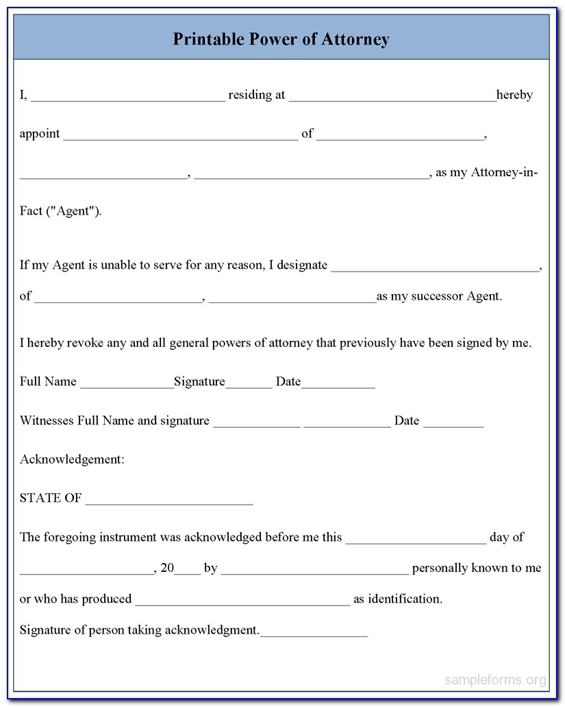 Free Printable Medical Power Of Attorney Form Alabama - Form - Free Printable Medical Power Of Attorney Forms