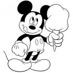Free Printable Mickey Mouse Coloring Pages For Kids | Paper   Free Printable Minnie Mouse Coloring Pages