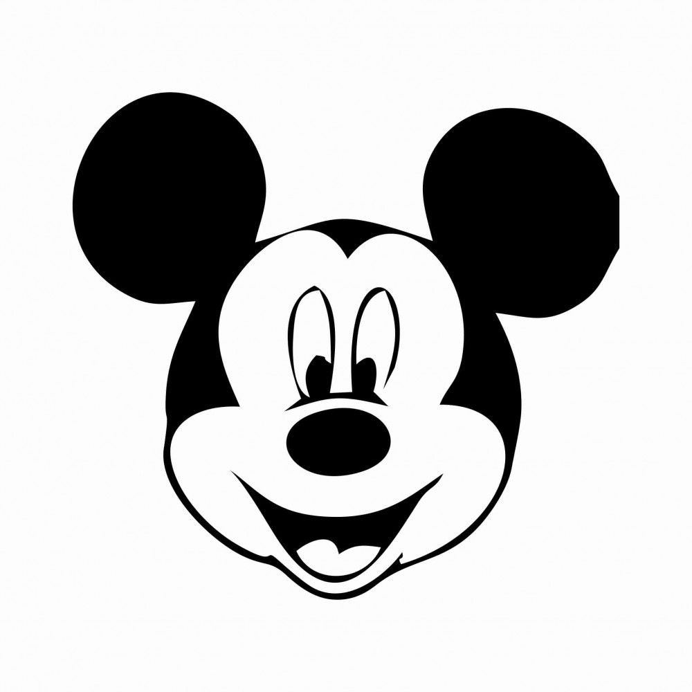 Free Printable Mickey Mouse Template | 34 Mickey Mouse Face Template - Free Printable Mickey Mouse Head