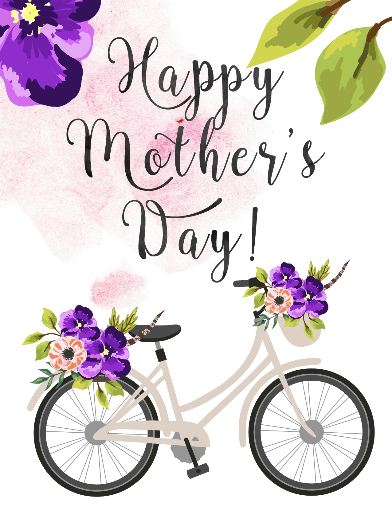 Free Printable Mother's Day Cards - Free Printable Mothers Day Cards