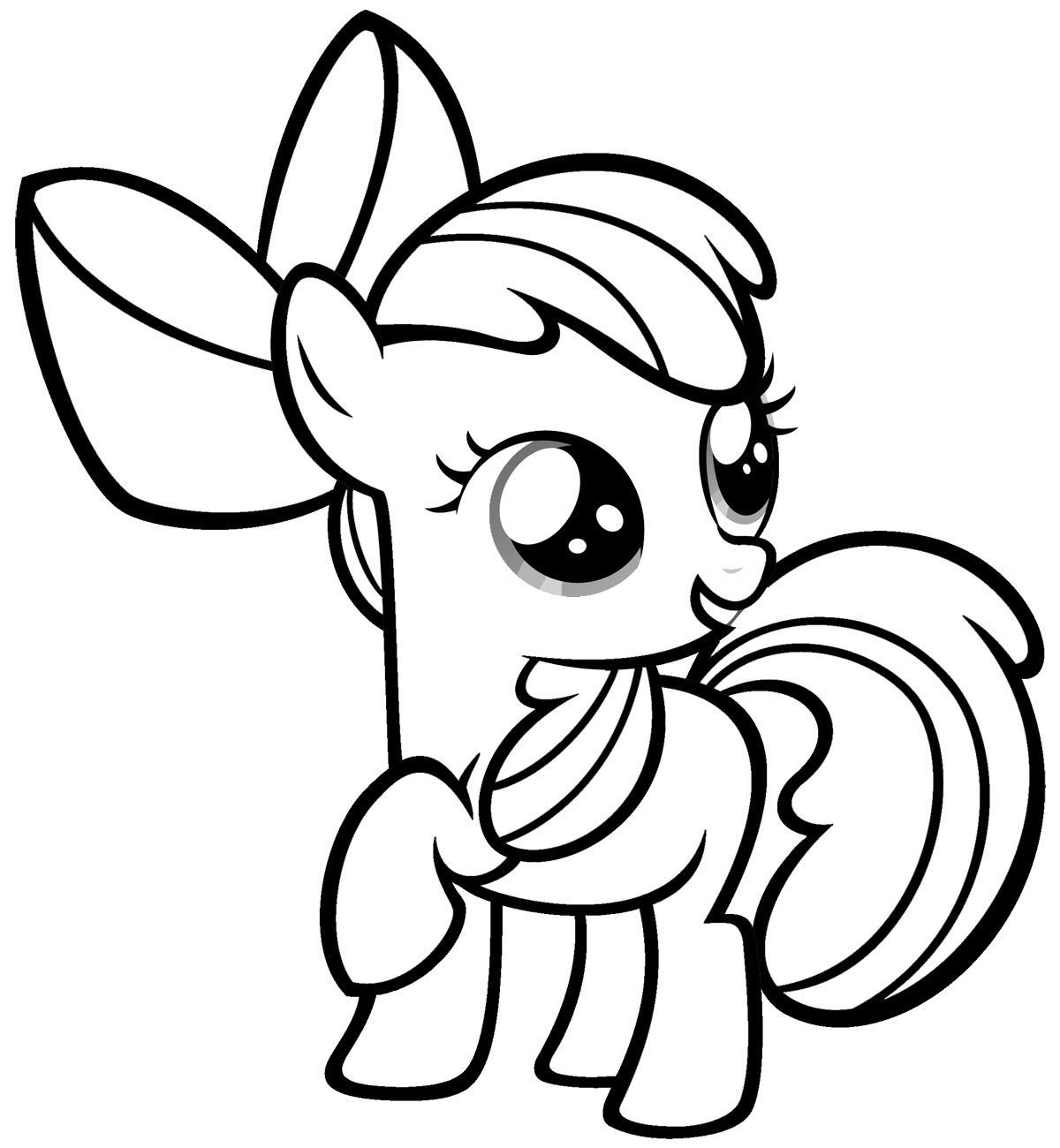 Free Printable My Little Pony Coloring Pages For Kids   Books Worth - Free Printable My Little Pony Coloring Pages