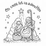 Free Printable Nativity Coloring Pages For Kids   Best Coloring   Free Printable Pictures Of Nativity Scenes
