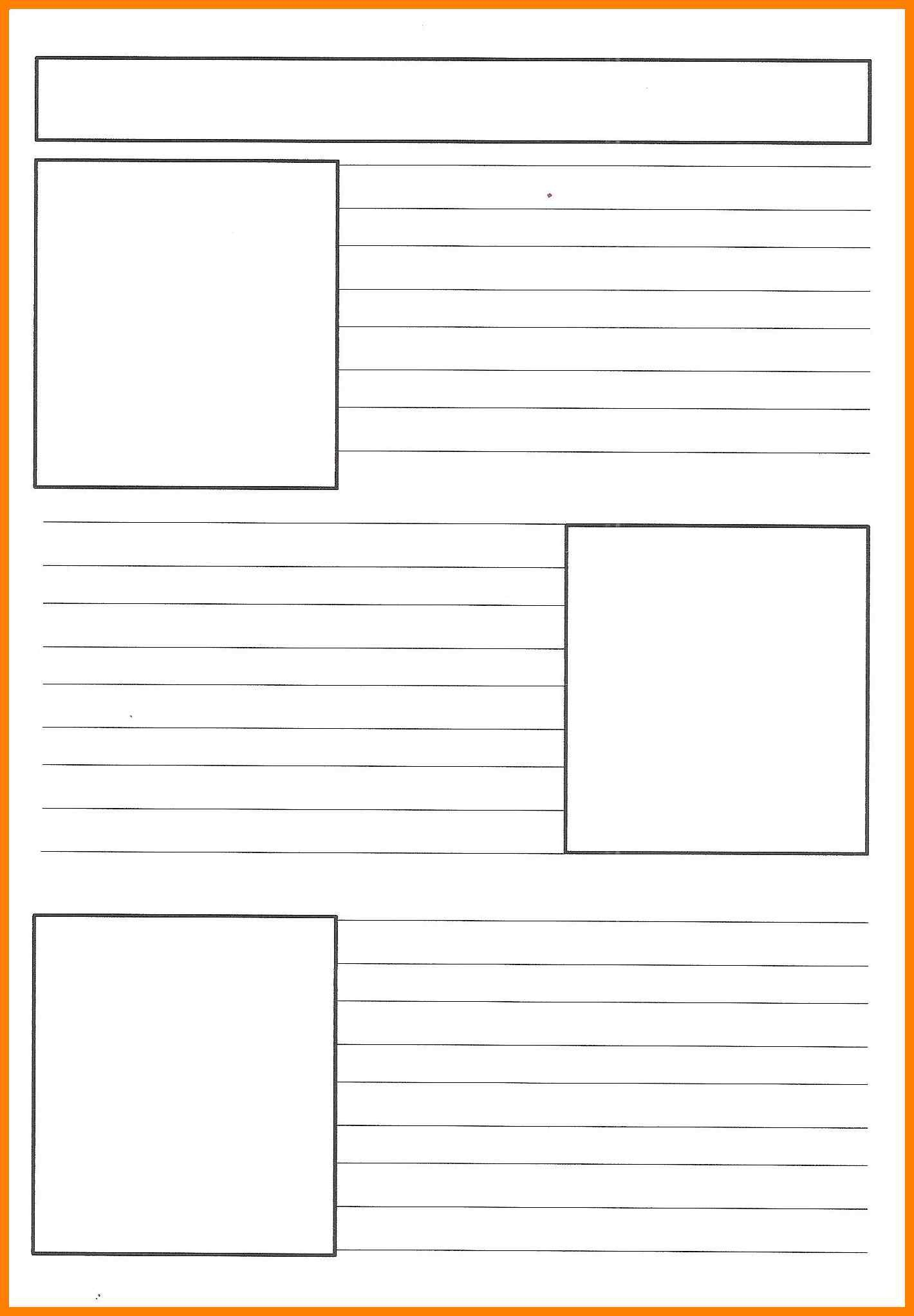 Free Printable Newspaper Template | Reference | Pinterest - Free Printable Newspaper Templates For Students