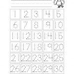 Free Printable Number Chart 1 30 | Kinder | Numbers Preschool   Free Printable Numbers